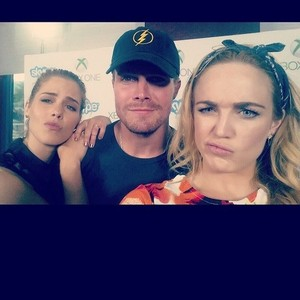 Emily, Stephen and Caity