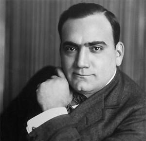 Enrico Caruso ( February 25, 1873 – August 2, 1921)