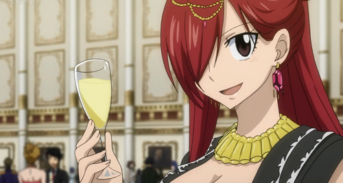 "fairy tail wallpaper called Erza Scarlet | ""The Grand Ball"""