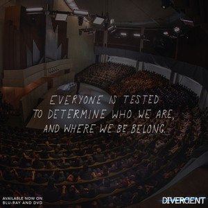 Everyone is tested to determine who we are and where we belong