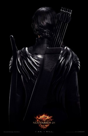 "Exclusive poster ""Our Leader the Mockingjay"""