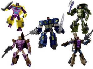 Fanmade Combiner Wars Combaticons
