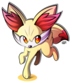 Fennekin Drawing