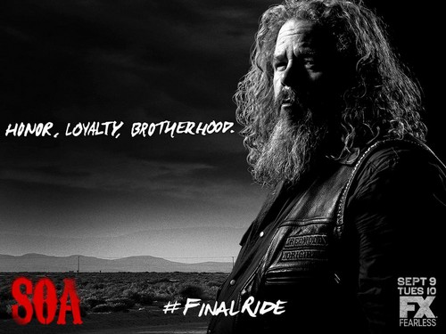 Sons of Anarchy Hintergrund containing a konzert titled Final Ride: Bobby