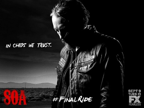 Sons Of Anarchy wallpaper with a concert and a sign titled Final Ride: Chibs