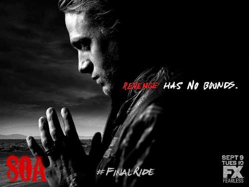sons of anarchy fondo de pantalla possibly containing a sign titled Final Ride: Jax