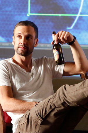First Look at Nick Blood as Lance Hunter