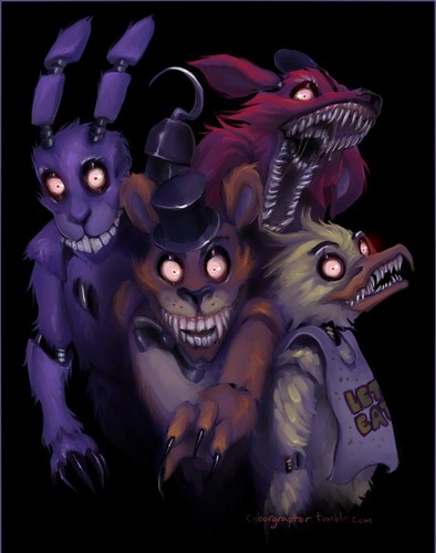Five Nights at Freddy's پیپر وال containing عملی حکمت titled Five Night's At Freddy's