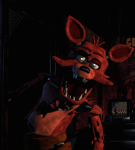 Five Nights at Freddy's پیپر وال probably with a triceratops titled Five Night's At Freddy's