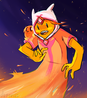Flame Elemental Finn