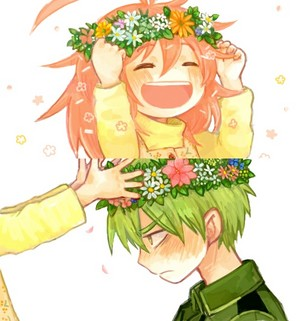 Flippy and Flaky as kids