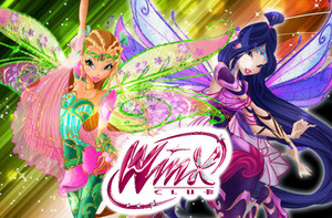 Flora & Musa: Bloomix Wallpaper.