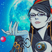 Fly me to the moon - bayonetta icon