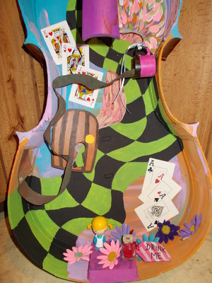 For Sale: Alice in Wonderland Cello Shadowbox