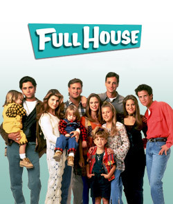 Full House wallpaper probably containing a carriageway, a street, and a pelican crossing entitled Full House