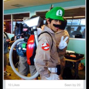 Ghostbuster/Boobuster Luigi!