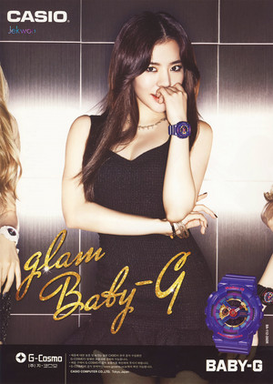 Girls Generation Casio Baby-G 2014