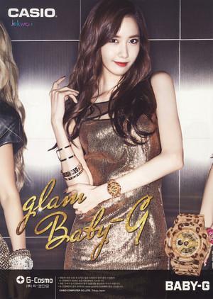 Girls Generation Casio Baby-G 2014