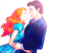 Giselle and her husband  - riselle-robert-giselle-enchanted fan art