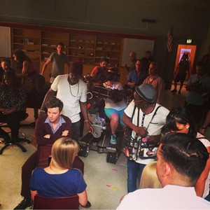 Glee Cast and Crew filming Season 6