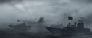 Godzilla VS The Navy
