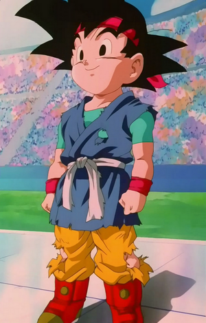 Goku Jr Dragon Ball GT