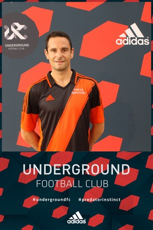 Gregoire Akcelrod during the Underground Football Club Tournament