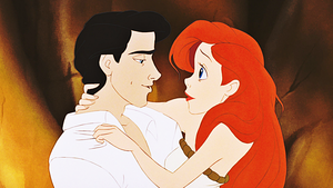 HD Blu-Ray ディズニー Princess Screencaps - Prince Eric & Princess Ariel
