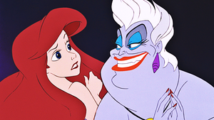 HD Blu-Ray disney Princess Screencaps - Princess Ariel & Ursula