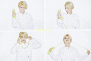 HQ SCANS SHINee « I'm Your Boy »