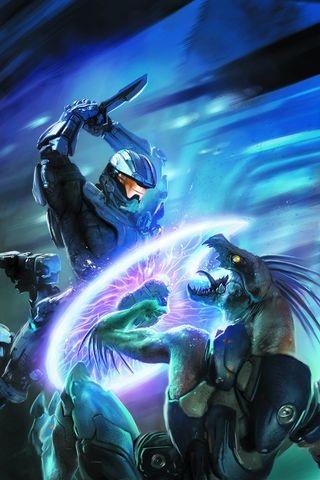Halo wallpaper titled Halo Escalation