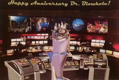 पेंग्विन्स ऑफ मॅडगास्कर वॉलपेपर entitled Happy Anniversary Dr Blowhole!