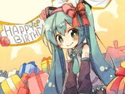 Happy birthday, MIKUUU~~!