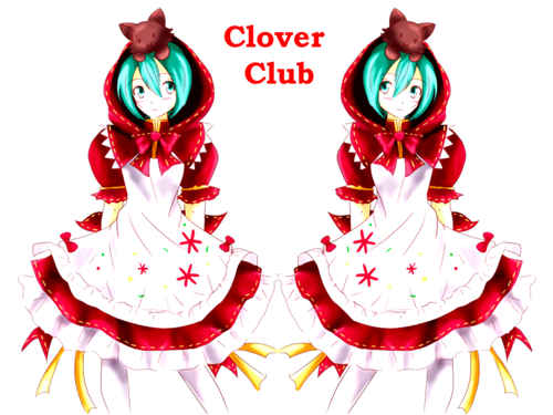 hatsune miku wallpaper probably with a bouquet titled Hatsune Miku - Clover Club