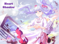 Hatsune Miku - hati, tengah-tengah Shooter