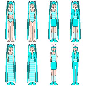 Hatsune Miku (Pixel art)