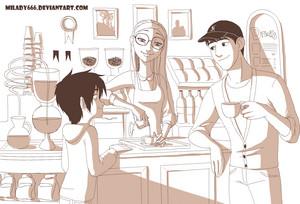 Hiro, Honey and Tadashi