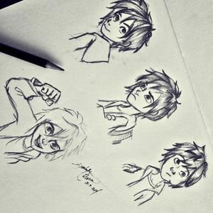 Hiro sketches