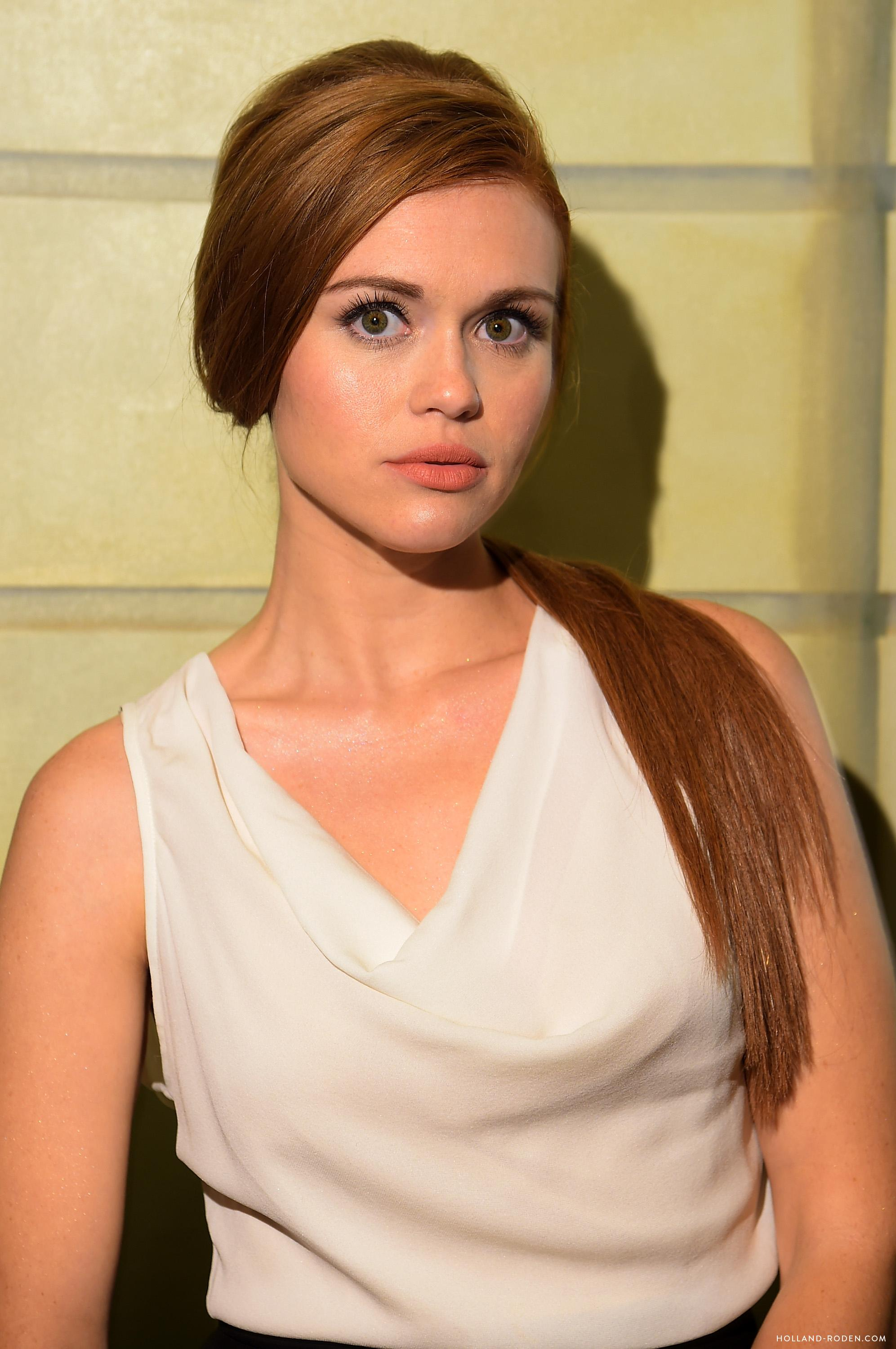 Holland attending various shows at New York Fashion Week