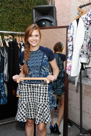 Holland attends the Parker on Spring Launch Event