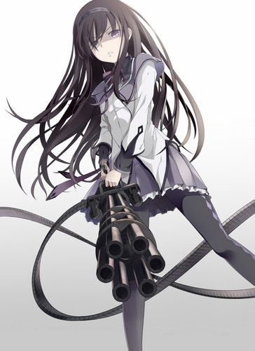Mahou Shoujo Madoka Magica fondo de pantalla called Homura~chan