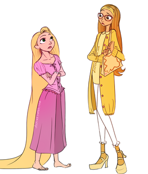 Honey レモン and Rapunzel