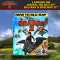 How To Train Your Dragon 2 Coming to Digital HD on October 21st and DVD and Blu-Ray on November 11st