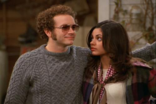 TV Couples achtergrond with a pullover titled Hyde and Jackie