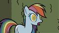 Hypnotized Rainbow Dash - rainbow-dash fan art