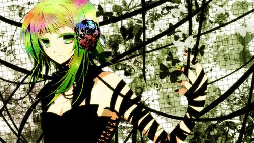 Gumi (Vocaloids) fondo de pantalla titled I amor Gumi