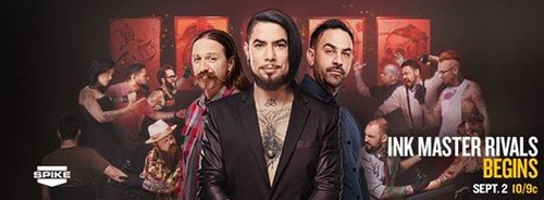 Ink Master wallpaper with a well dressed person and a business suit called Ink Master: Rivals
