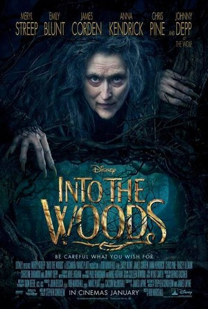 Into The Woods New Poster (2014)