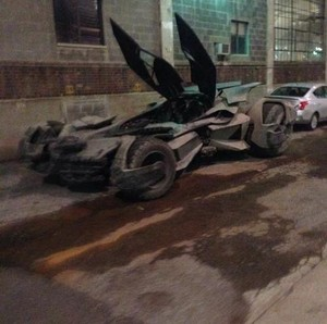 Is this the new Batmobile from BvS: Dawn of Justice?