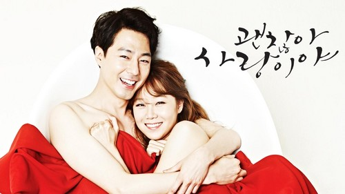 Drama Korea kertas dinding entitled It's okay that's Cinta
